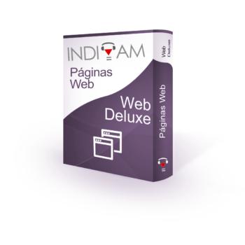 Páginas Web → Web Deluxe